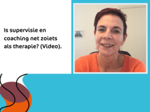 Is supervisie en coaching net zoiets als therapie? Spiegelvisie
