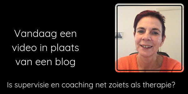Is supervisie net zoiets als therapie? Spiegelvisie coaching Zwolle